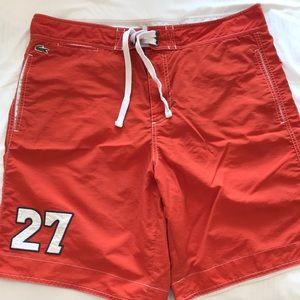 Lacoste Swim Trunks/Board Shorts